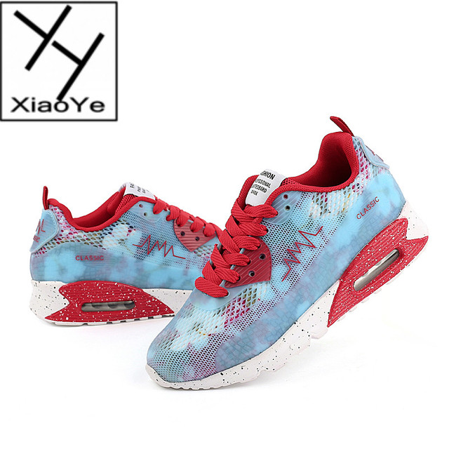 a7ae67e62c768 Fashion Women Air Mesh Breathable Sports Running Sneakers GYM Yoga Casual  Shoes Outdoor Walking Shoe
