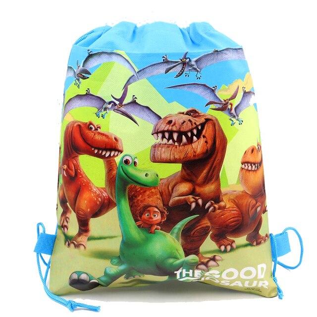 12pcs The Good Dinosaur Baby Shower Happy Birthday Party Drawstring