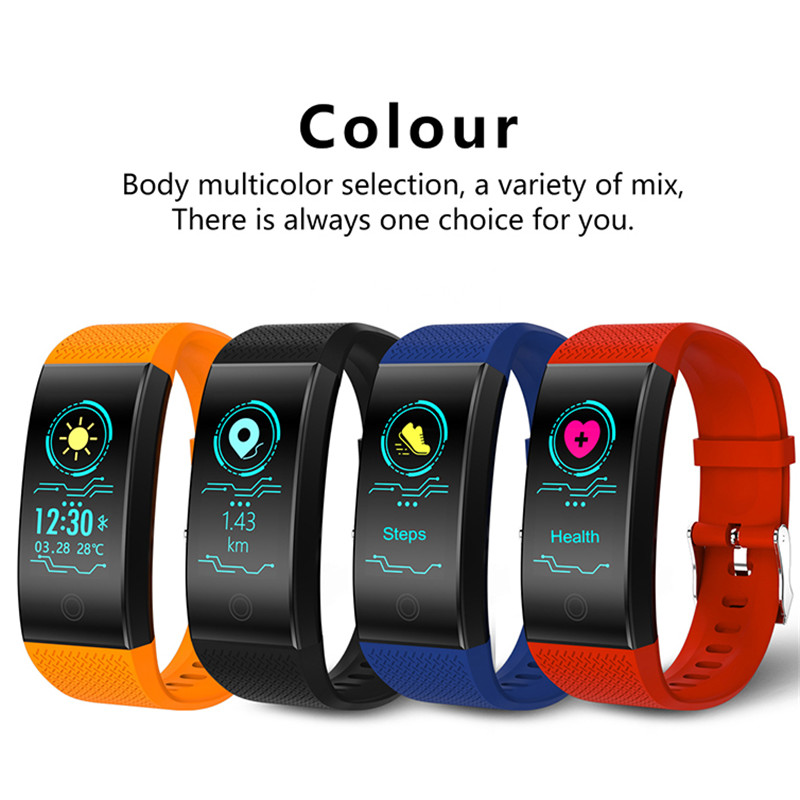 FROMPRO-18-Color-Screen-Smart-Bracelet-Heart-Rate-Monitor-IP68-Waterproof-Fitness-Tracker-Band-Bluetooth-40-Sports-Wristbands-2