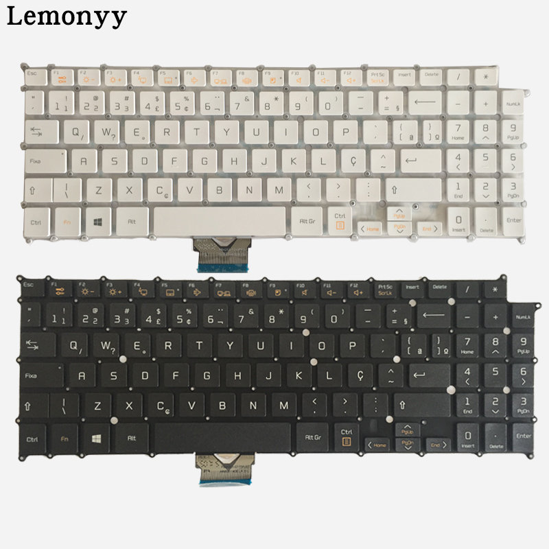 BR Laptop Keyboard For LG 15Z960 AEW73709803 HMB8146ELB35 brazil laptop keyboard black white laptop keyboard for sony svs13a2c5e svs13a2v9r svs13a2w9e svs13a2x9e svs13a2x9r black without frame brazil br