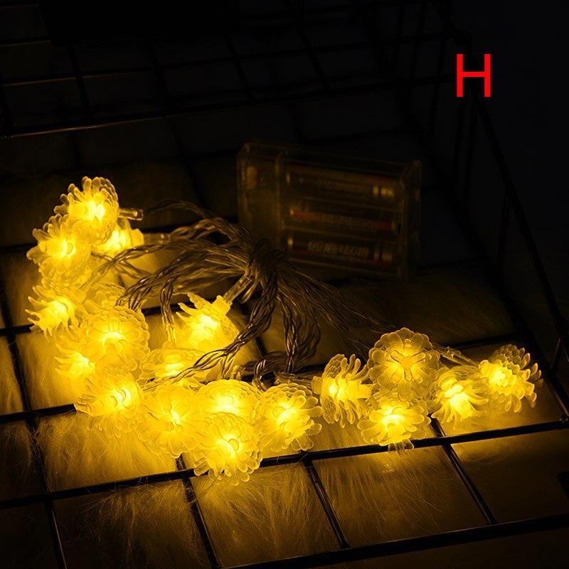 Plus récent 3M 20 LED chaîne de noël fée lumière arbre de noël LED lumières guirlande extérieure décorations pour la maison