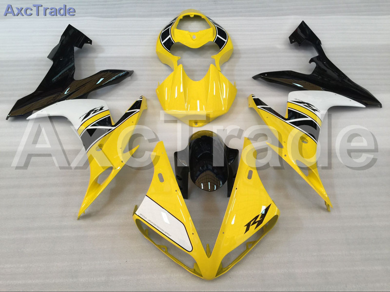 Motorcycle Fairings Kits For Yamaha YZF-R1000 YZF-R1 YZF 1000 R1 2004 2005 2006 ABS Injection Fairing Bodywork Kit Yellow Black 6 colors cnc adjustable motorcycle brake clutch levers for yamaha yzf r6 yzfr6 1999 2004 2005 2016 2017 logo yzf r6 lever