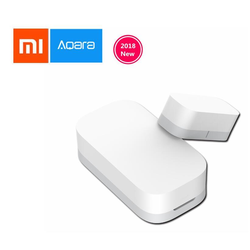цена на Xiaomi AQara Smart Window Door Sensor ZigBee Wireless Connection Multi-purpose Work With Xiaomi smart home Mijia / Mi Home app