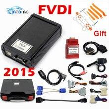 DHL Бесплатная 100% FVDI полная версия (в том числе 18 Программы для компьютера) FVDI ABRITES Abrites Commander без ограниченной FVDI диагностический сканер