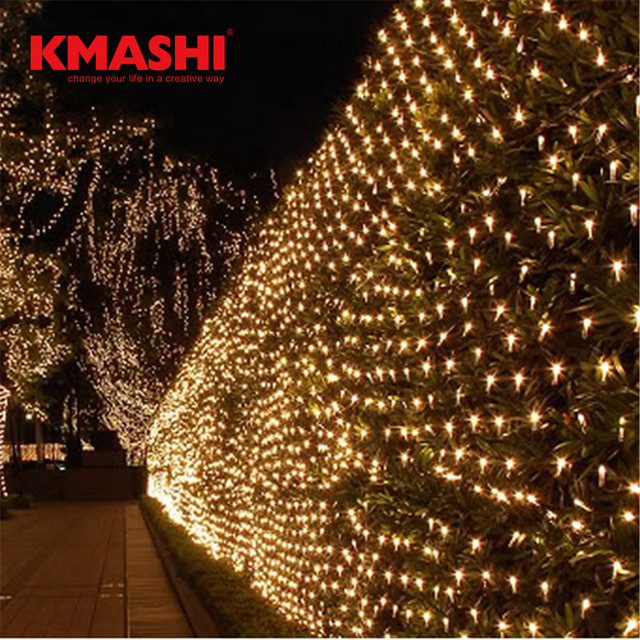 Kmashi 4mx6m 672 leds fishing net light string lights ceiling mesh kmashi 4mx6m 672 leds fishing net light string lights ceiling mesh for outdoor tree christmas party mozeypictures Gallery