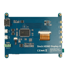 CTP Capacitive Touching Panel  with 5 Inches LCD Display Screen for Raspberry Pi Display-B 800*480 DIY Module Kit цена
