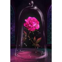 Yikee алмазная живопись роза искусственная Бриллиантовая вышивка