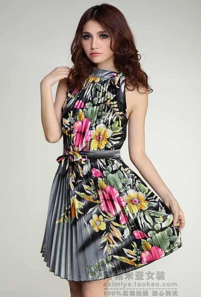 High Quality 2014 Fashion Dress Plus Size Dress Graceful Women Dress