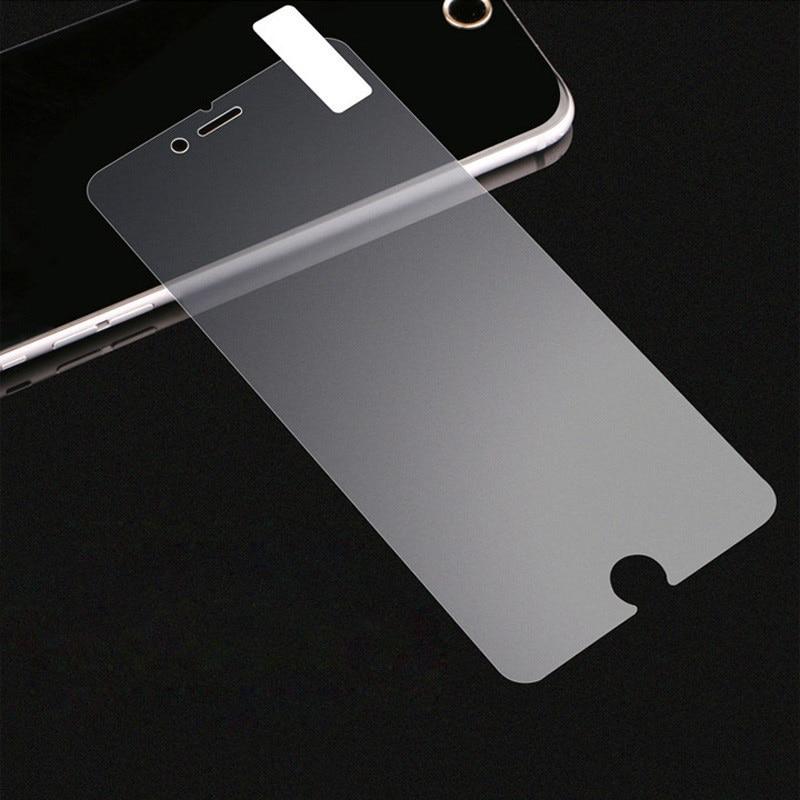 imágenes para 10 unids 0.3mm Mate Premium Vidrio Templado Para el iphone 7 6 S 6 plus 5S 5C SE 5 Anti Deslumbramiento Mate Protector de Pantalla de Protección películas