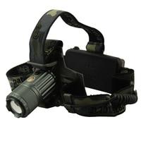 Cree XM L XML T6 Headlamp 5000 Lumens Zoom Touch Adjustable Frontal Headlight 18650 Battery Led