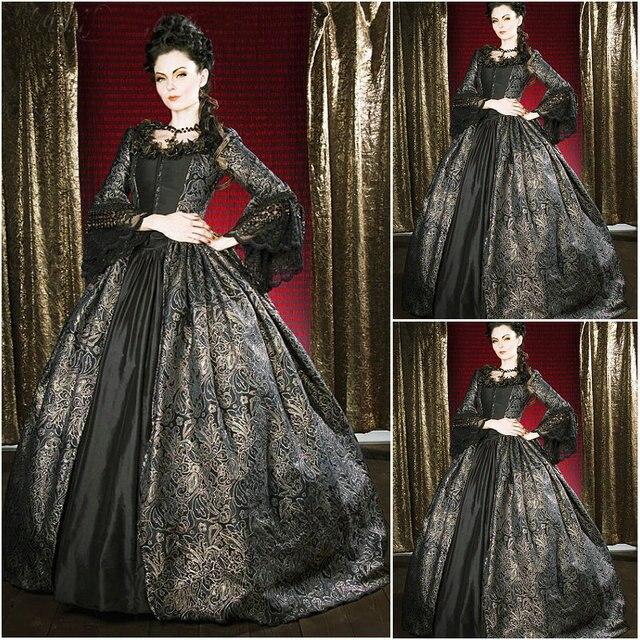 Geschichte! kunde-gebildete 18 century vintage kostüme renaissance dress  steampunk kleider gothic cosplay halloween e54b3c395e6b