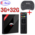 [Genuine]H96 PRO+ 3GB/32GB Amlogic S912 H96 Octa Core Android 6.0 2.4G/5GHz Wifi 4K 100/1000M LAN BT4.1 KDOI 16.1 smart TV Box