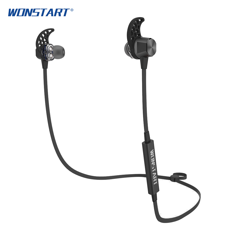 Wireless Earphone Wonstart TS02 In-ear Headset Stereo Sport Earphone For MP3 Player and Calls PK gear iconX Wireless earbuds