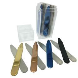 SHANH Зун 20 шт. нержавеющая сталь воротник остается подарок для Него 2,2 дюймов на заказ 4 цвета смешанные