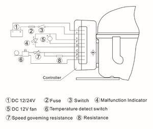 Image 4 - FM25DC/R134A או R600A מקרר מקפיא מדחס DC 12 V/24 V