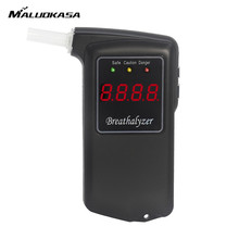 MALUOKASA Professional LCD Parking Detector Gadget Digital Breath Alcohol Tester with Backlight Breathalyzer Driving Essentials