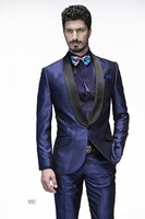 Latest Coat Pant Designs Italian Purple Wedding Suits for Men Jacket Slim Fit Skinny Blazer Prom 2 Piece Groom Tuxedo Masculino