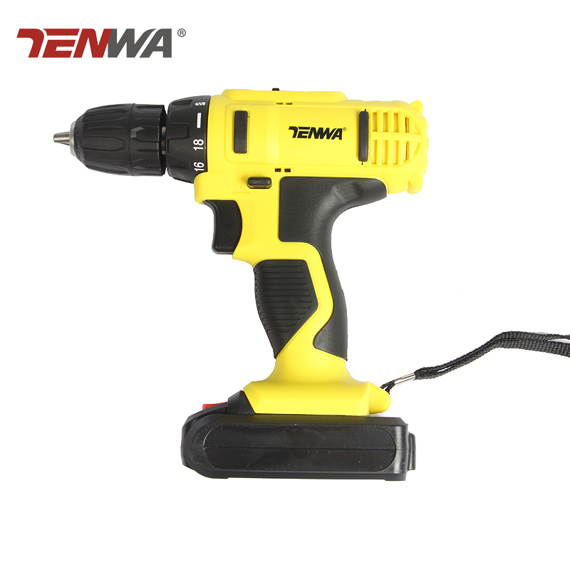 цена на Tenwa  21V Electric Drill Double Speed Lithium Cordless Drill Household Multi-function Electric Screwdriver Power Tools