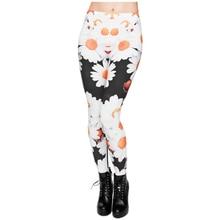 be6a3642bc Hot Sale 3D Print Daisy Women Leggings Sexy Leggins Shiny Jeggings Tayt Fitness  Legging Calzas Mujer