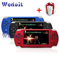32 Bit 4.3 Inch Handheld Game Player Game Console 8G MP5 Game Player 3.0MP Camera 100 Kinds Games Russia 1000mAh Battery