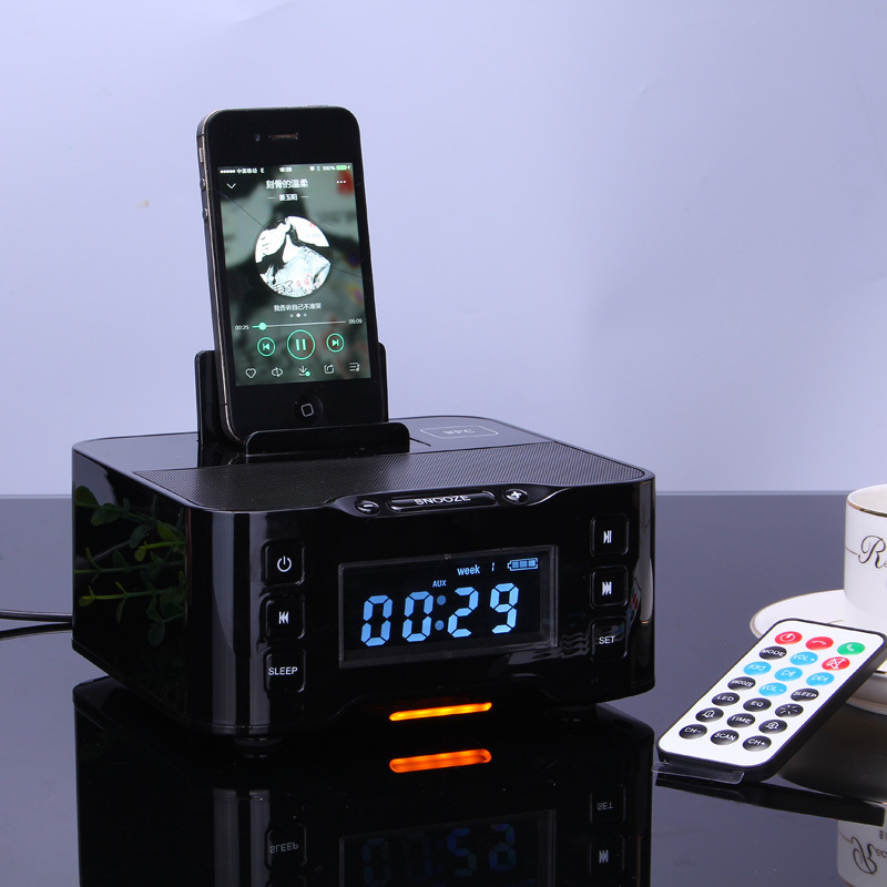 bluetooth speaker nfc multiple docking station for play. Black Bedroom Furniture Sets. Home Design Ideas