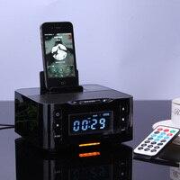 Bluetooth Speaker NFC Múltipla docking station para jogar e carregar para ipod para iphone samsung com Rádio FM NFC