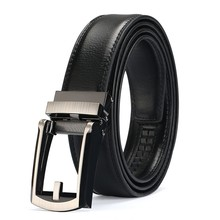 Luxury High Quality Genuine Leather Automatic Buckle Belt For Men