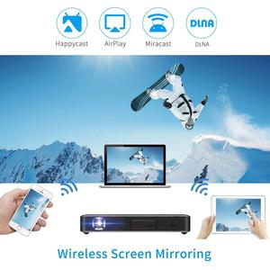 Image 3 - Vivicine P10 4K Mini Projector,Android 9.0 Bluetooth,4100mAh Battery,HDMI USB PC Game Mobile Pocket Proyector Beamer
