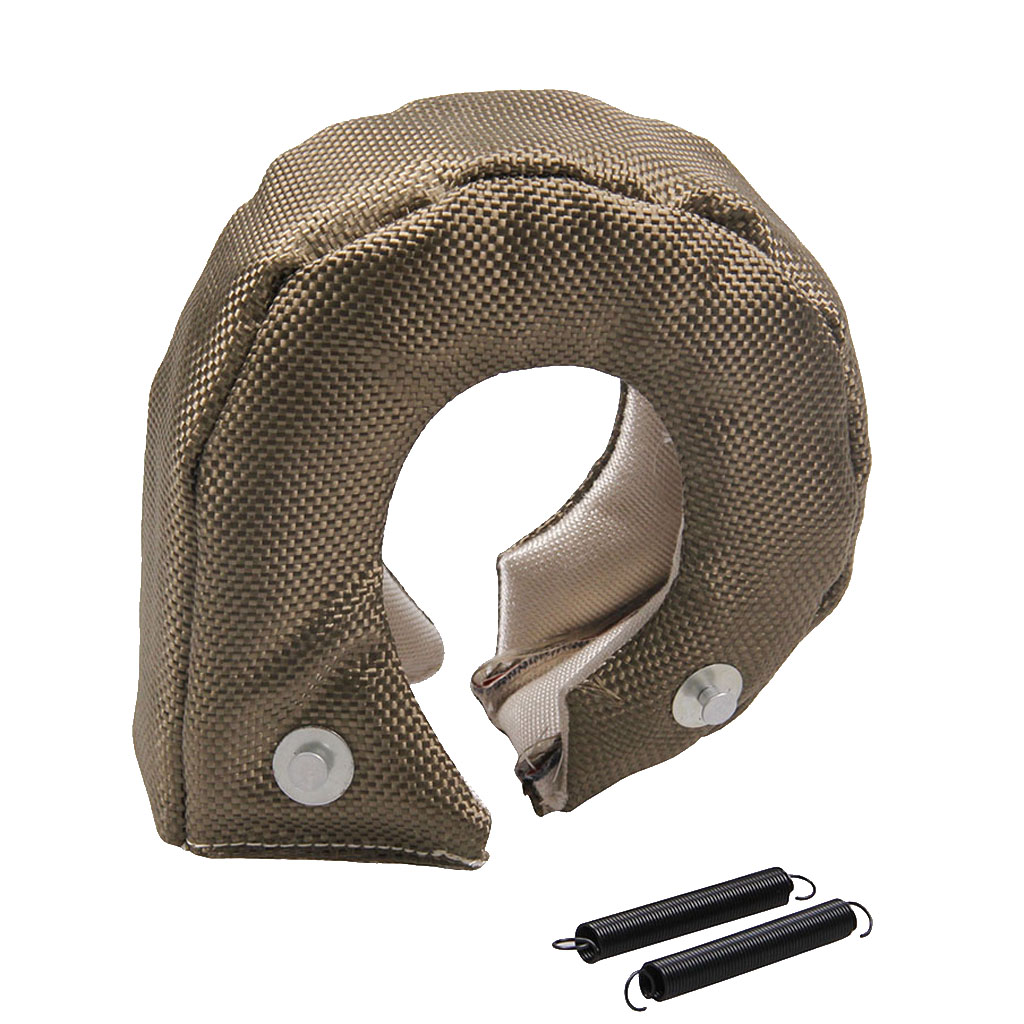 CAR Turbo Blanket T3 Cover For Thermal Heat Shield With Fastener Springs  Chargers Part Turbocompresor