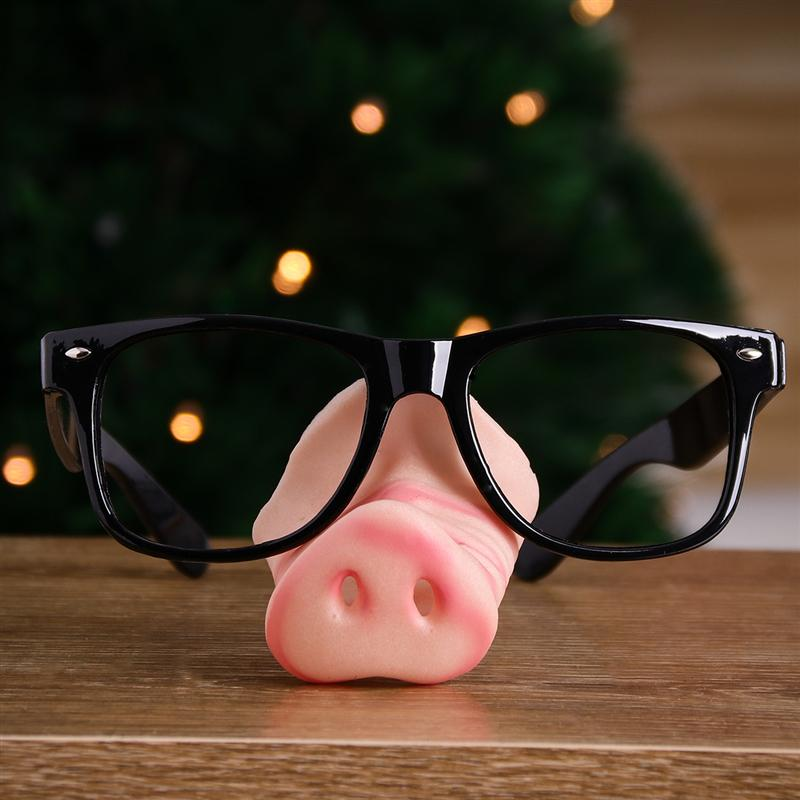 Pig nose glasses,eye-catching party glasses,funny glasses,novelty party glasses