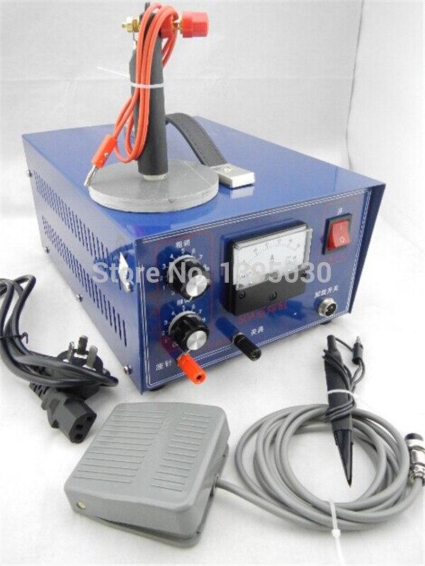 1PC ventes DX-50A poche Laser soudeuse par points Machine de bureau Laser bijoux soudage Machine 110/220V