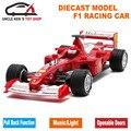 17 Cm Diecast Carros de Fórmula 1 Modelo, Mclaren F1 Metal Lembrança, crianças Brinquedos Liga Com Caixa de Presente/Puxar Para Trás A Função/Som/Luz