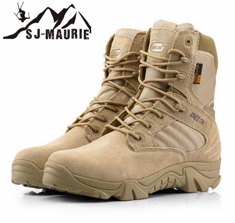 SJ-MAURIE Randonnée Chaussures de Randonnée Imperméables Professionnels Militaire 511 Bottes Tactiques De Montagne Escalade En Plein Air Chaussures Baskets Hommes