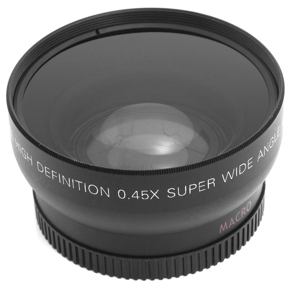 52MM 0.45x Wide Angle Lens + Macro Lens for Nikon DSLR Cameras with 52mm UV Lens Filter Thread Free Shipping 1