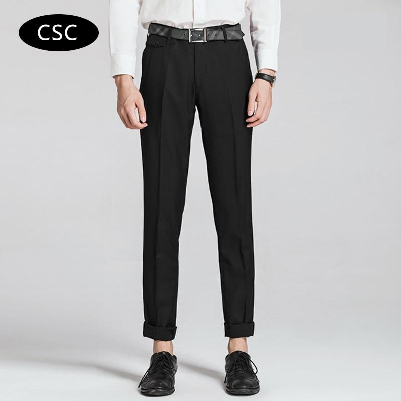 Erkek Gelinlik Suit Pantolon erkekler için 2018 moda Slim fit Parti - Erkek Giyim - Fotoğraf 3
