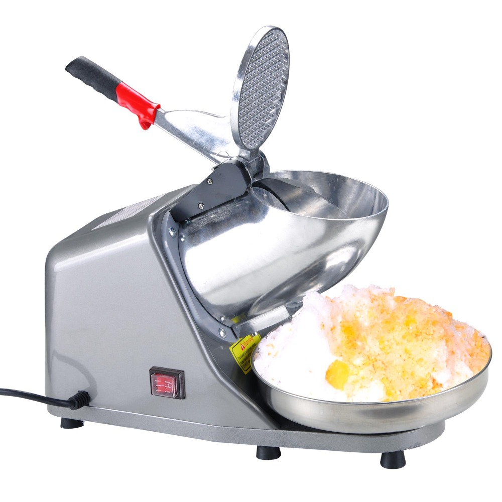 110V 60HZ Stainless Steel Commercial Ice Crusher Electric Ice Shaver Ice Machine Commercial Ice Shaver Machine110V 60HZ Stainless Steel Commercial Ice Crusher Electric Ice Shaver Ice Machine Commercial Ice Shaver Machine