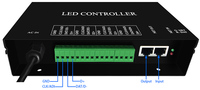 H802TB LED MASTER Pixel Controller Support DMX Console Software LED Build Software Work With Slaver H801RA