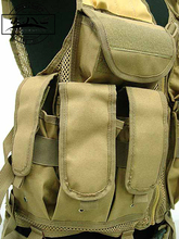 Military Paintball Army Tactical Vest