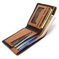 2016 Fashion Men Wallets Short Design Feather Clutch Purses Money Pocket Brand Male Card Holders Carteira