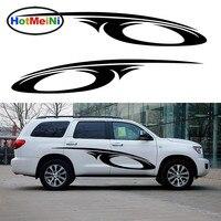 2 X Fantasy Outer Space Stripes Swirl Car Sticker For Camper Van RV SUV Trailer Truck