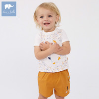 Dave bella baby clothing sets boys handsome clothes children summer outfit kids 2 pcs suits baby boys clothes DBF6783