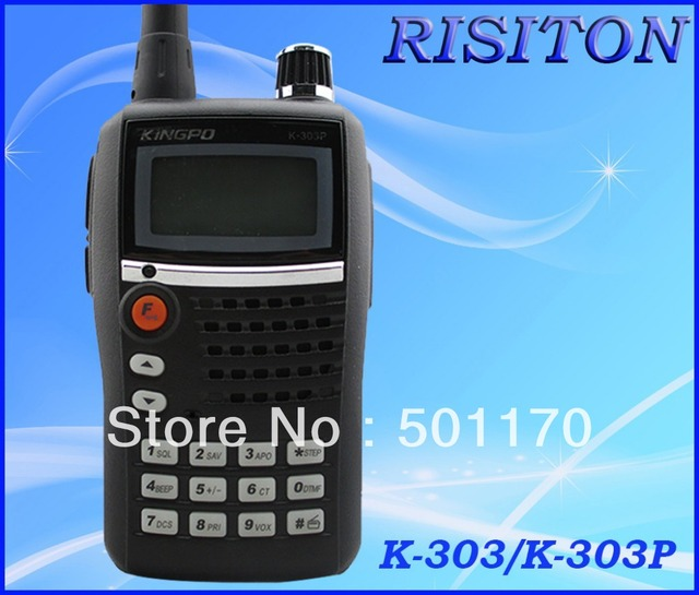 KINGPO K-303/K-303P handheld radio walkie talkie FM radio