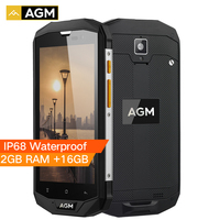 AGM A8 SE IP68 Waterproof Mobile Phone 5 0 Android 7 0 4050mAh 2GB 16GB Qualcomm