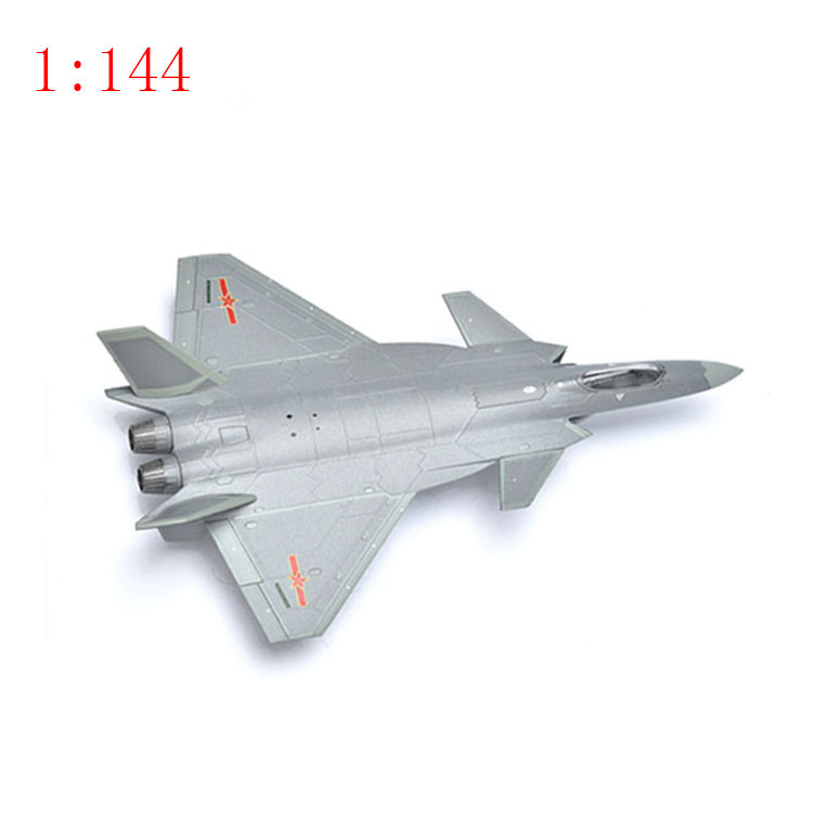 1:144/1:100 Small  scale aircraft model fighter J-20 Stealth fighter J-10 military  alloy simulation  Model Toys  one piece 1 400 jinair 777 200er hogan korea kim aircraft model