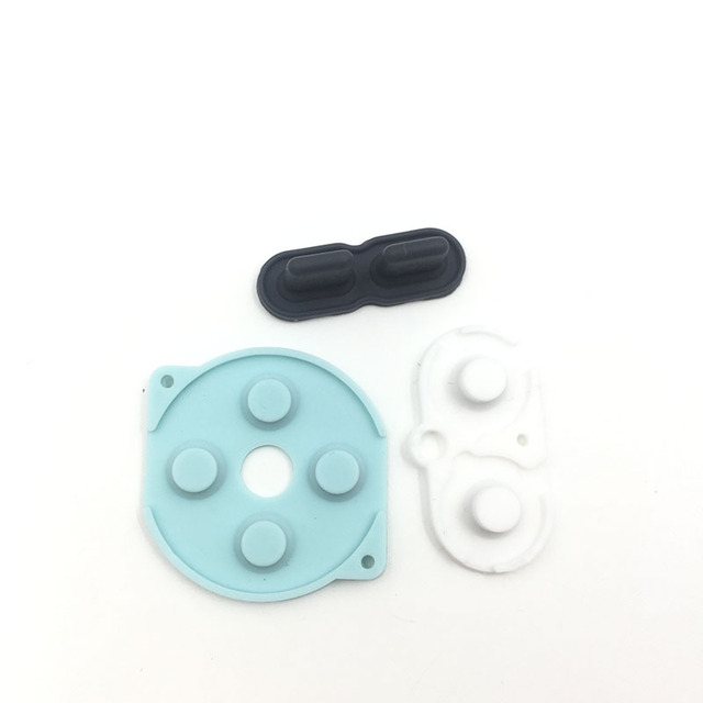 For GBP Replacement Conductive Buttons A-B, D-Pad For Nintendo Gameboy Pocket 2