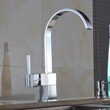 Becola küchenarmatur neue moderne messing verchromt wasserfall wasserhahn küche mixer heißes und kaltes wasser waschbecken wasserhahn code-8052-4