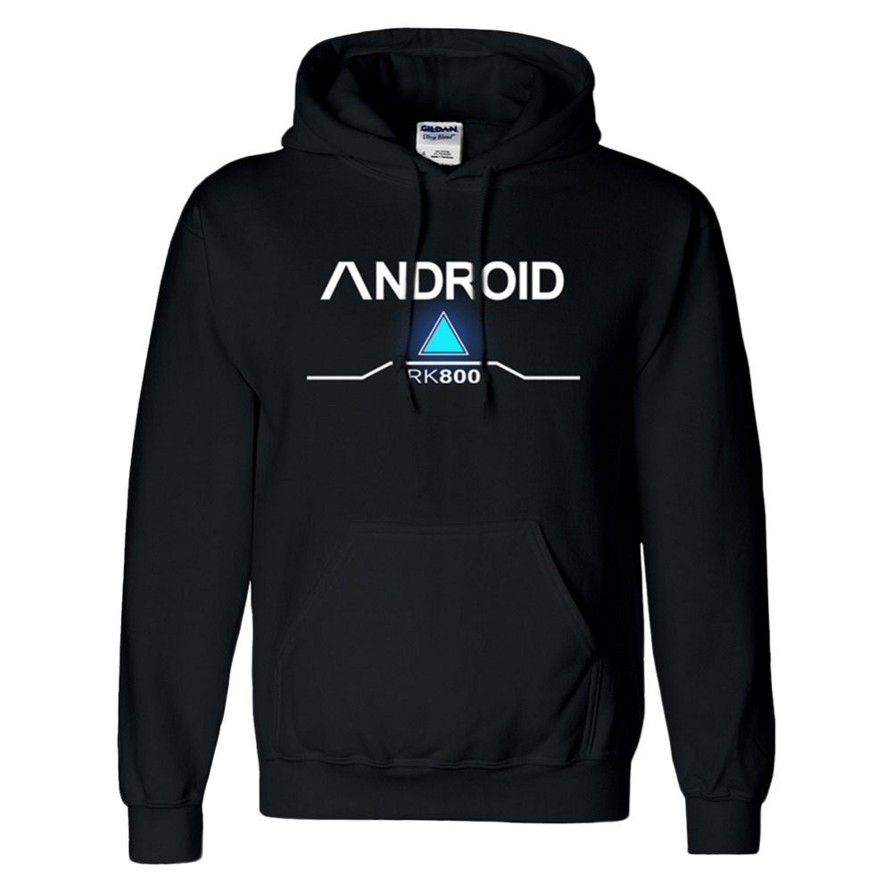 Detroit Become Human Cotton Conner Hoodies Outwear Android Bryan Dechart RK800 Cosplay Costume