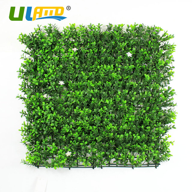 uland 1pc 25x25cm faux green plants greenery ivy leaves flower