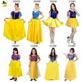New Girls Snow White Princess Dresses Kids Adult Girls Halloween Party Christmas Cosplay Dresses Costume Children Girl Clothing