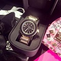 Luxury Brand Design Женские Часы Женщины Платье Керамика Циферблат Из Нержавеющей Стали Кварцевые Часы Часы reloj mujer Montre Femme 2016